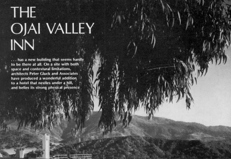 Image of The Ojai Valley Inn Addition
