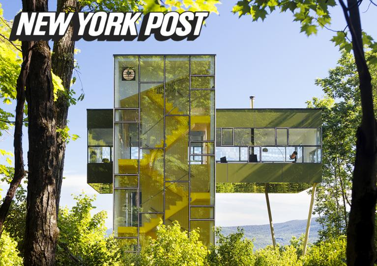 Image of Architects let imaginations run wild building Catskills retreats