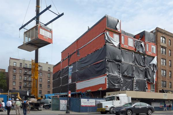 Image of Watch A New Prefab Building Rise In NYC, Stack by Stack