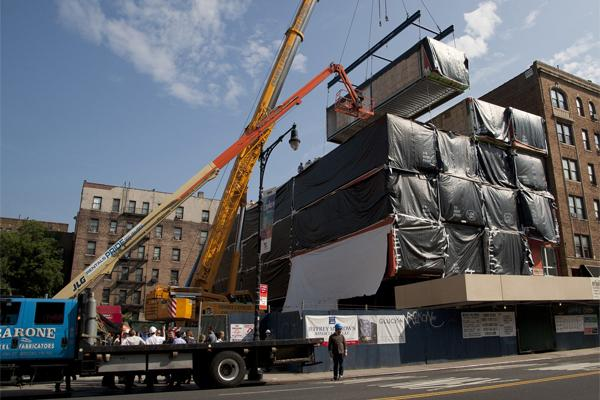 Image of NY's modular moment arrives