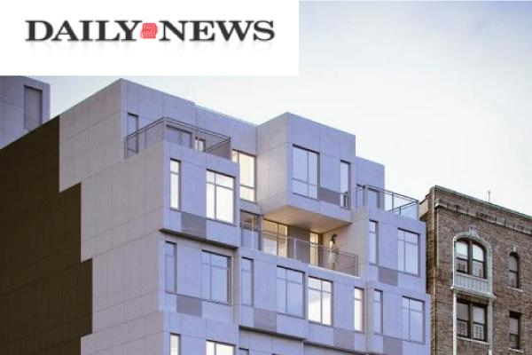 Image of Inwood gets the city's first prefabricated apartment building