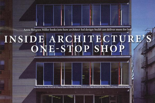 Image of Inside Architecture's One-Stop Shop