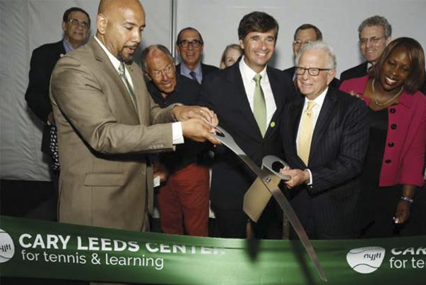 Image of Cary Leeds Center for Tennis, Learning Unveiled