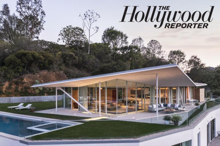 Image of Director Will Gluck's Hillside 'Glass Pavilion'