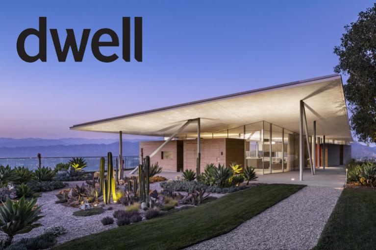 """Image of In Los Angeles, a Midcentury Homage Is Capped With a """"Floating Roof"""""""