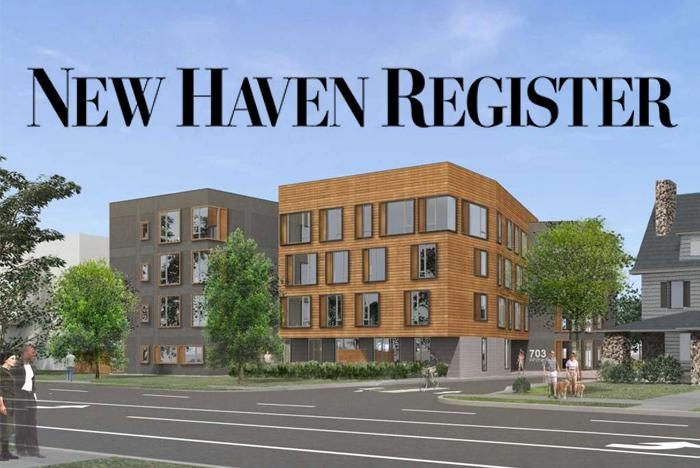 Image of Former New Haven Red Cross Building to be Reborn as Apartments