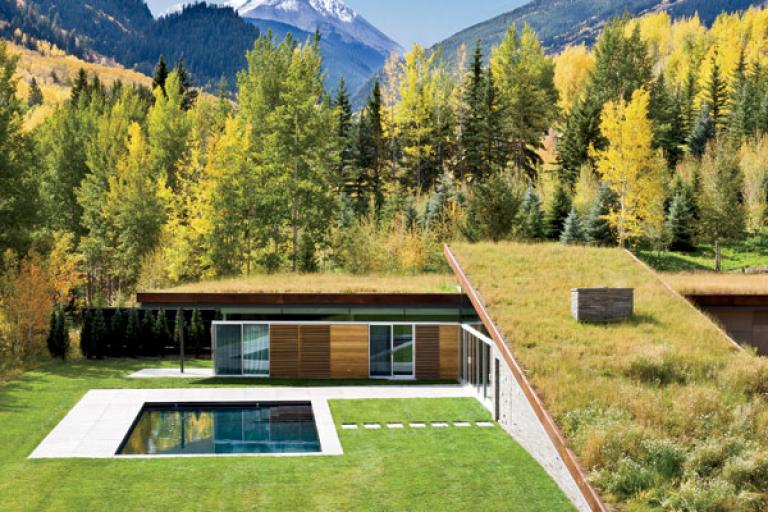 Image of House in the Mountains