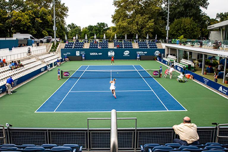 Image of Pro Tennis Returns to the Bronx, but for How Long?