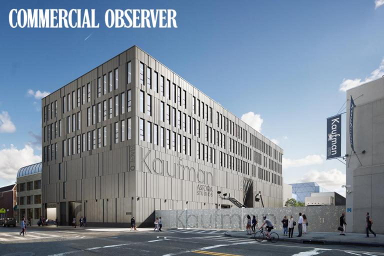 Image of Kaufman Astoria Studios Builds New Soundstages and Office Space