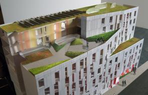 Contact sheet image 1 of Pratt Graduate Housing