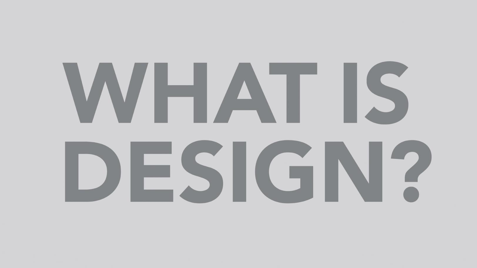 What is Design? | GLUCK+